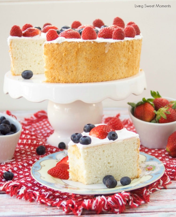 Carbs In Angel Food Cake  Incredibly Delicious Sugar Free Angel Food Cake Living