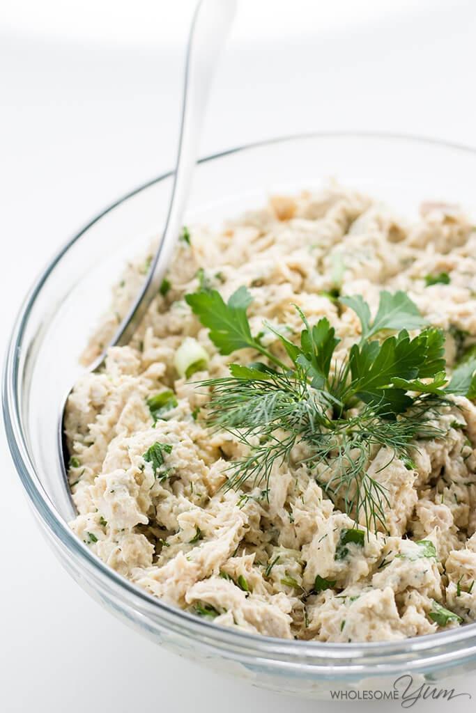 Carbs In Chicken Salad  Easy Keto Low Carb Chicken Salad Recipe Paleo