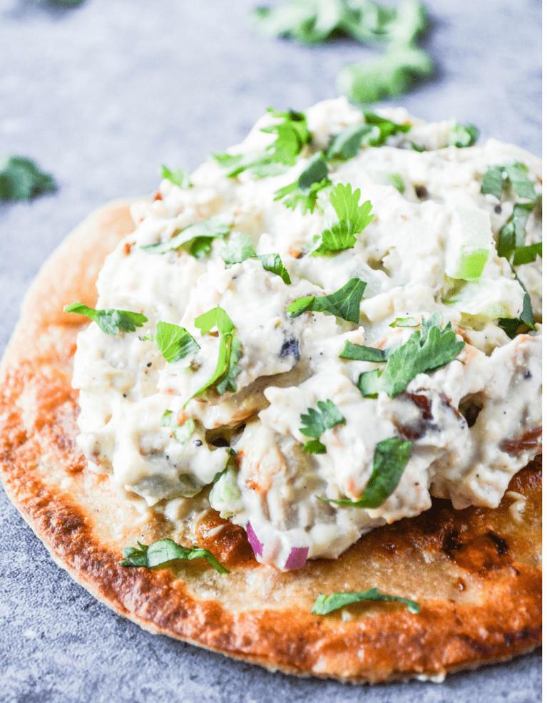 Carbs In Chicken Salad  Creamy Low Carb Avocado Chicken Salad Hey Keto Mama