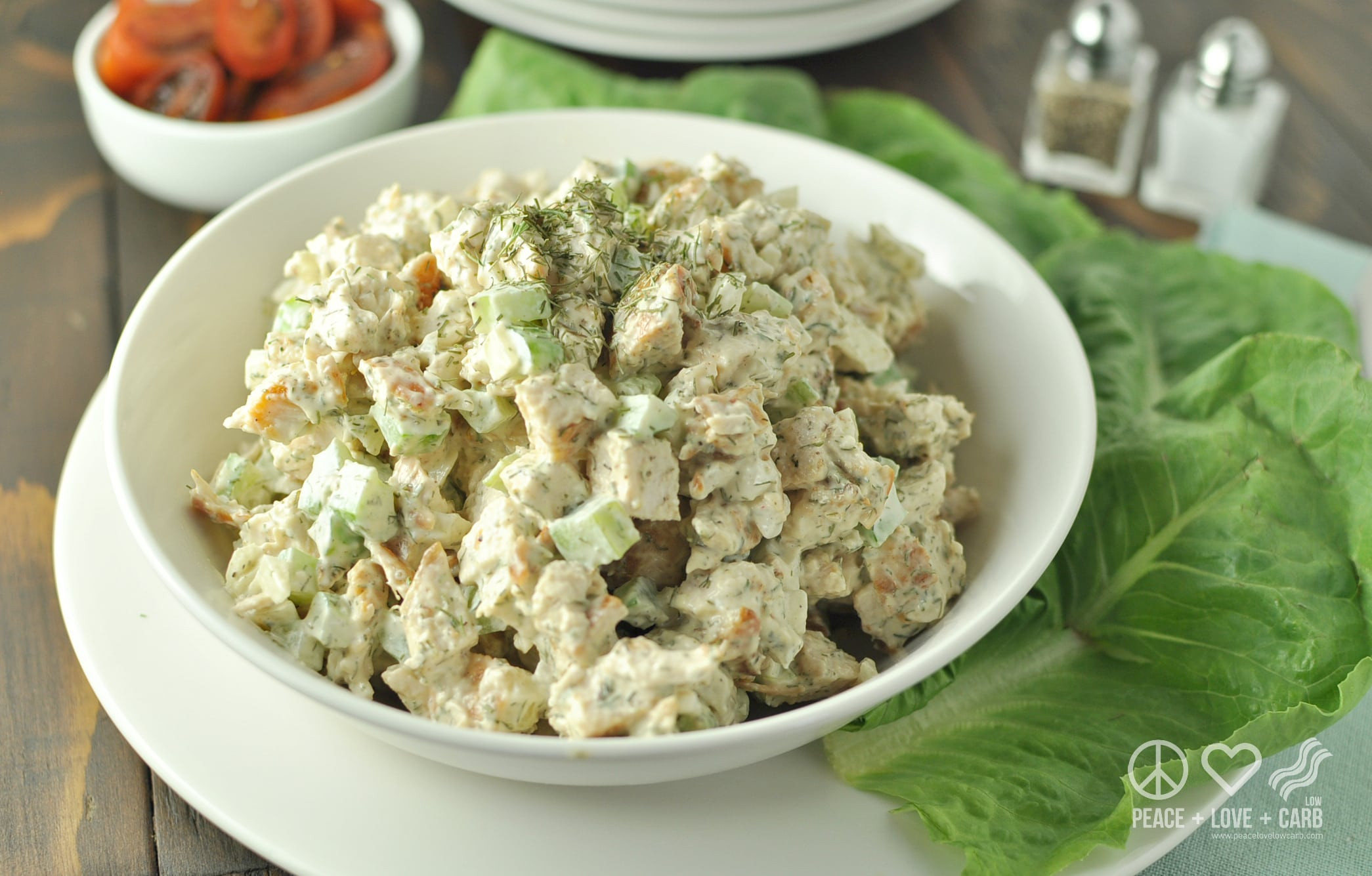 Carbs In Chicken Salad  Dill Chicken Salad Low Carb Paleo
