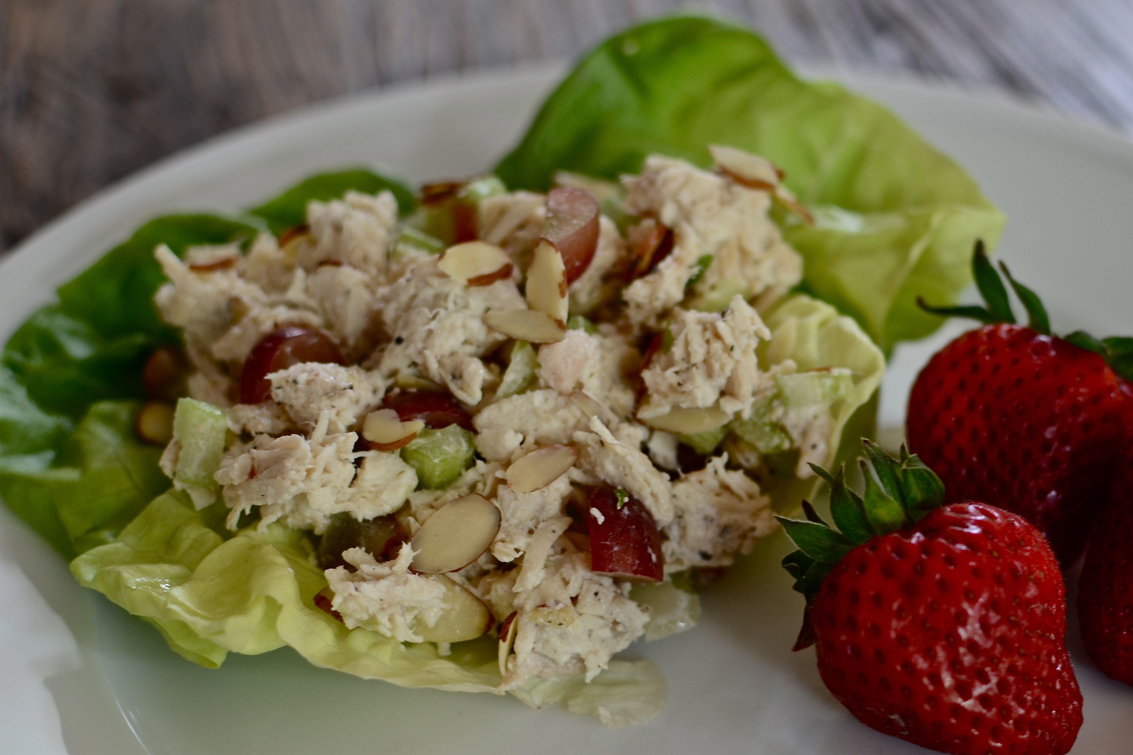 Carbs In Chicken Salad  Healthy Low Carb Chicken Salad ReCreateYourReCreateYour