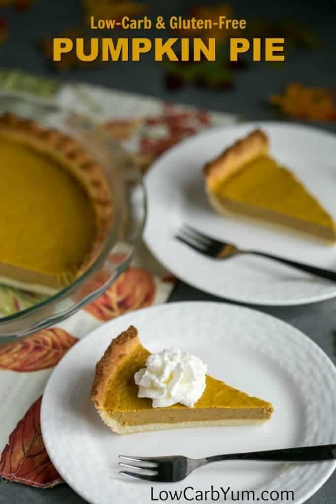 Carbs In Pumpkin Pie  Low Carb Pumpkin Pie Recipe Gluten Free