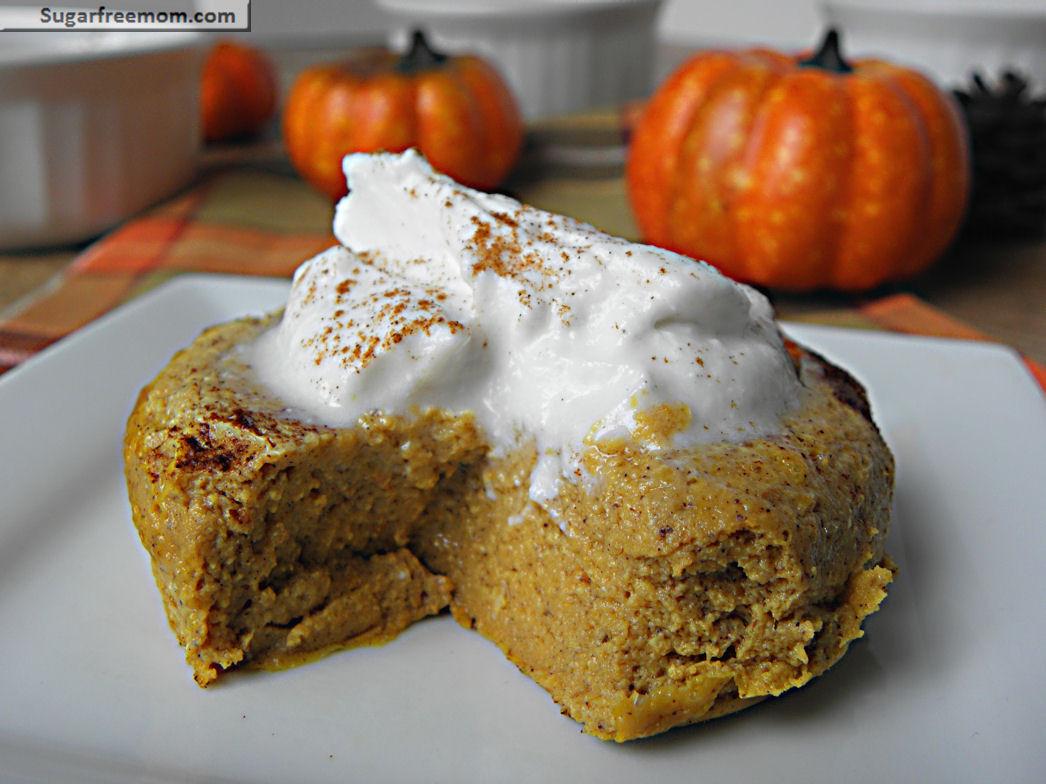 Carbs In Pumpkin Pie  Keto Pumpkin Pie Custard Sugar Free Gluten Free Low Carb