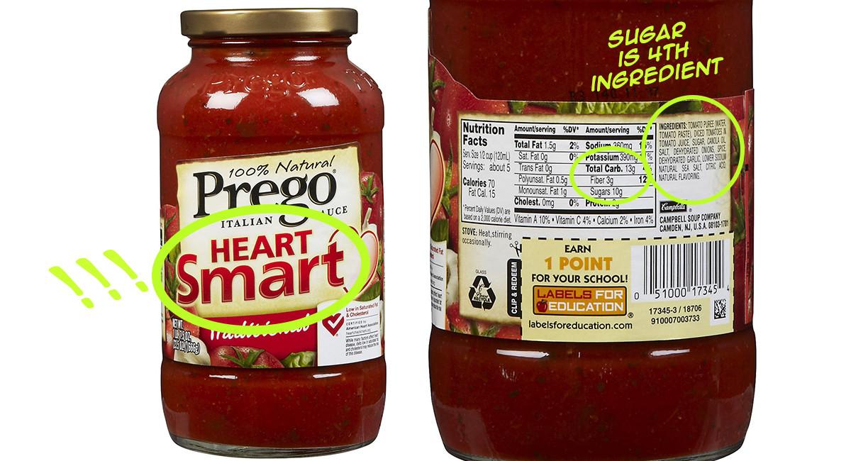 Carbs In Tomato Sauce  Mad Label Skills Sugar & Carbs Part 1