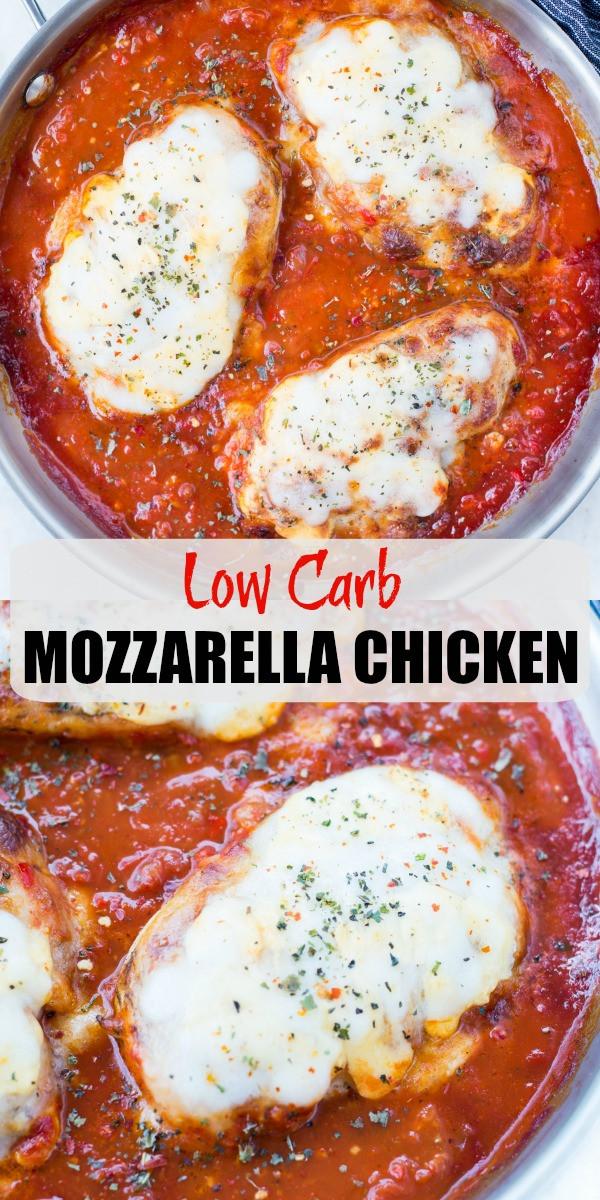 Carbs In Tomato Sauce  MOZZARELLA CHICKEN The flavours of kitchen