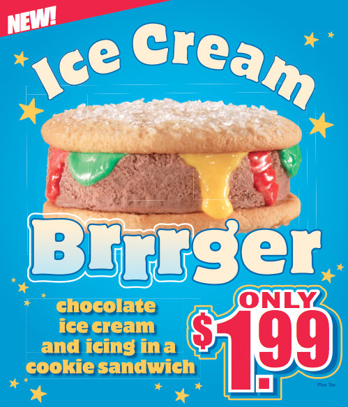 Carls Jr Dessert  Carls Jr Is Testing Out New Ice Cream Burger Neatorama