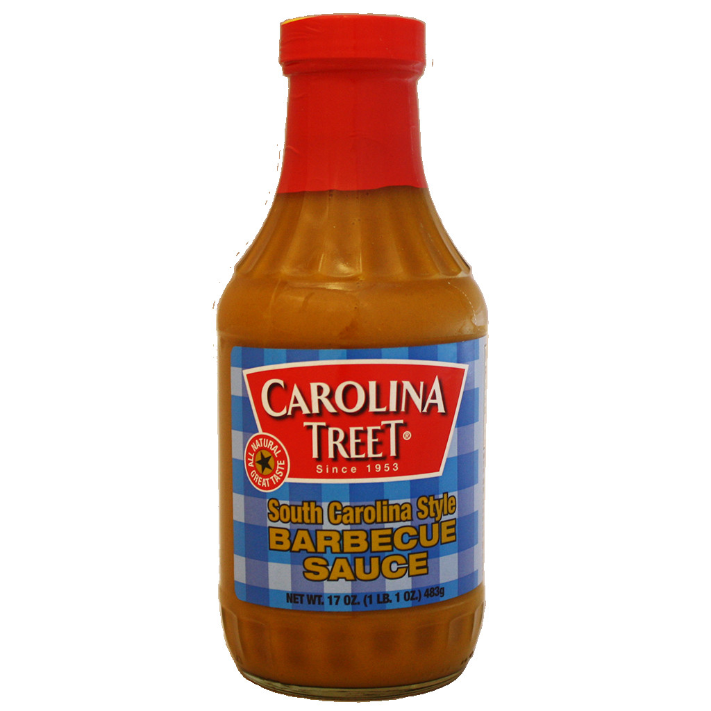 Carolina Bbq Sauce  Carolina Treet South Carolina Style Barbecue Sauce 17 oz