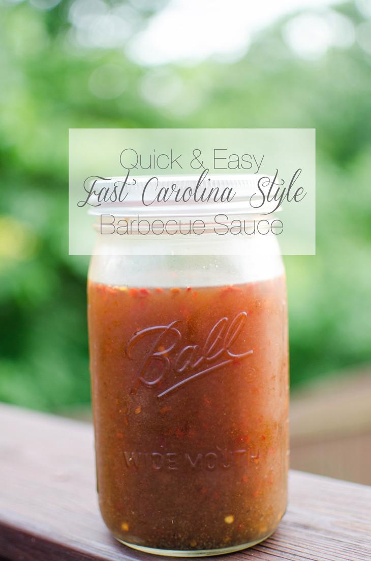 Carolina Style Bbq Sauce  RECIPE