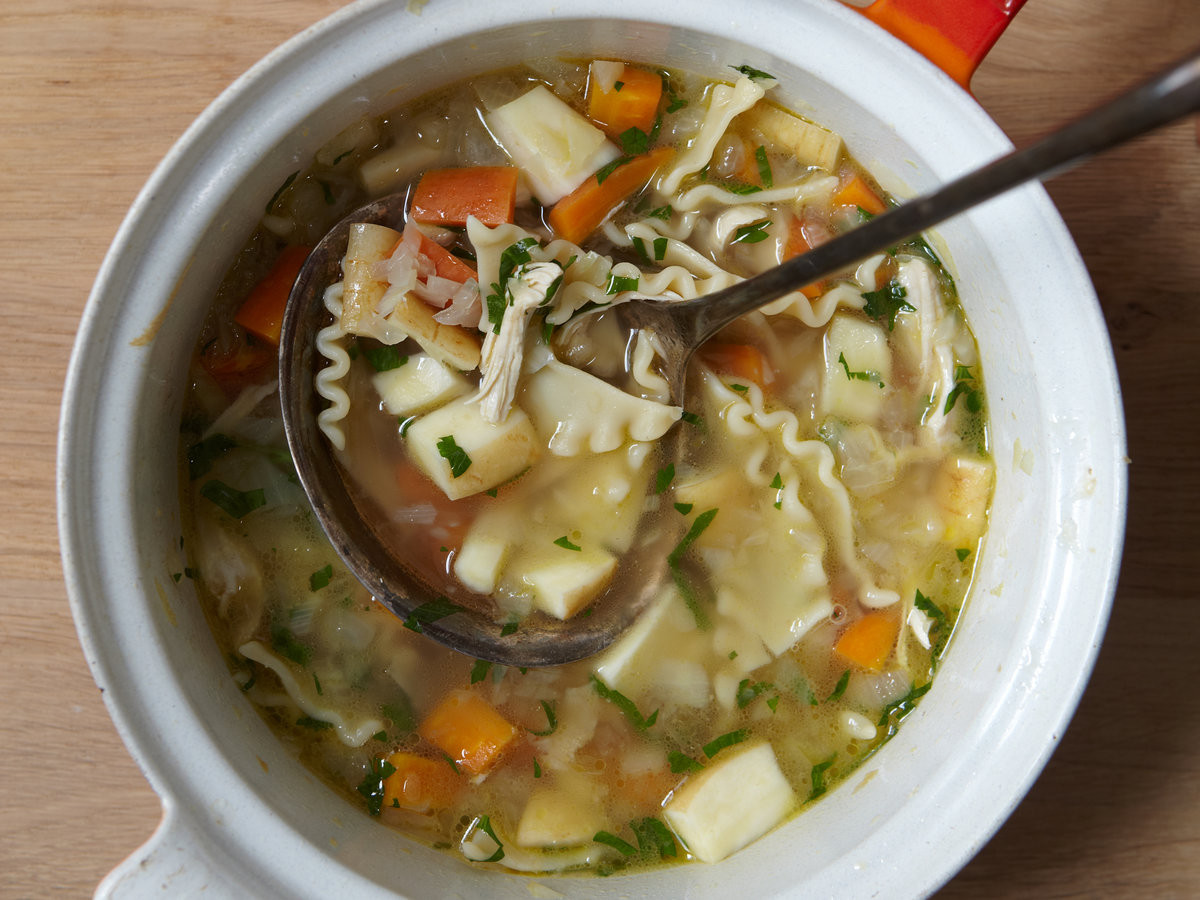 Carrabba'S Chicken Soup Recipe  Chicken Noodle Soup with Parsnips and Dill Recipe Quick