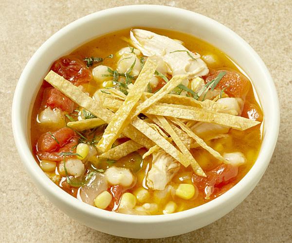 Carrabba'S Chicken Soup Recipe  Tex Mex Chile Lime Chicken Soup Recipe FineCooking