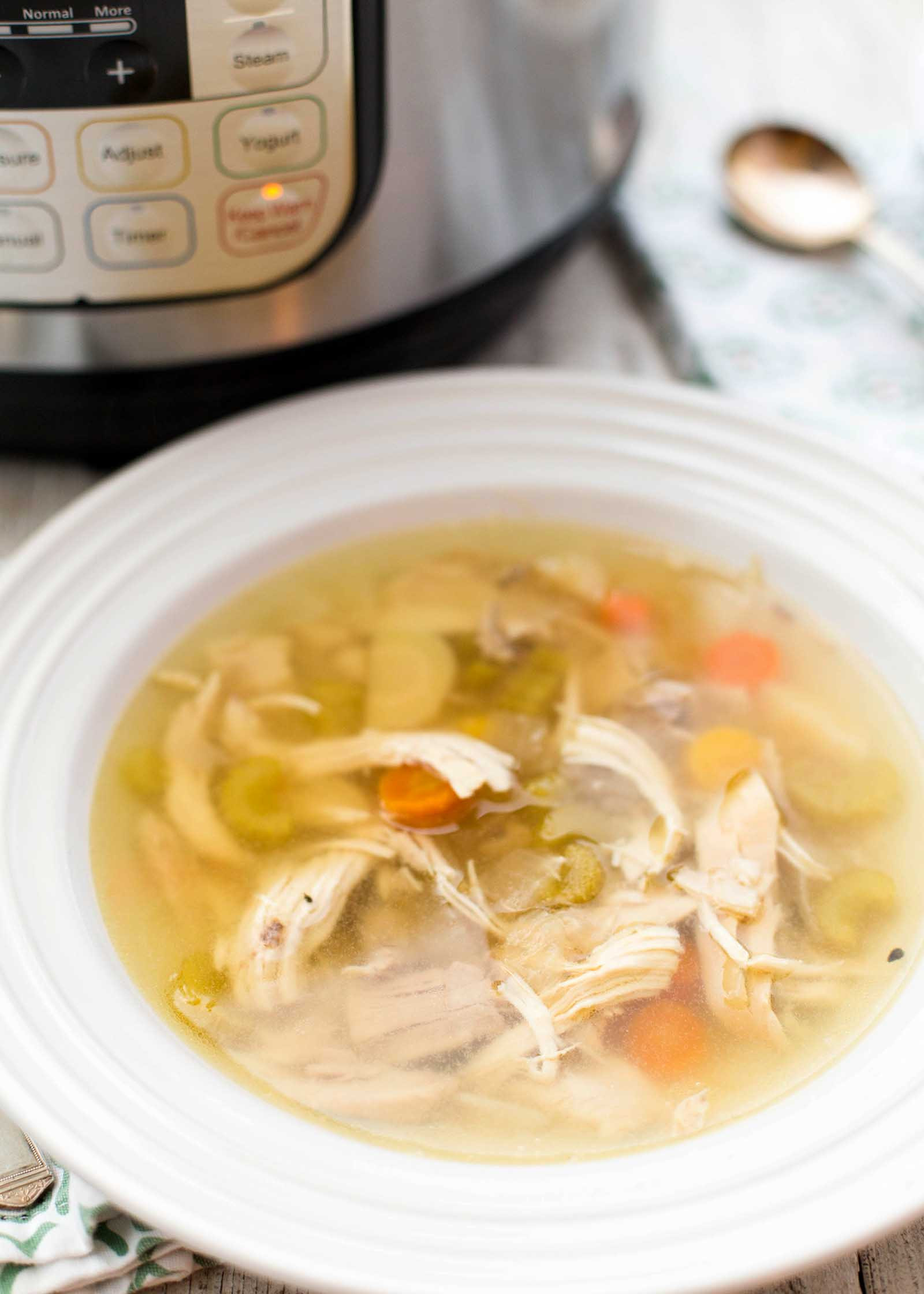 Carrabba'S Chicken Soup Recipe  How to Make Chicken Soup in the Pressure Cooker Recipe