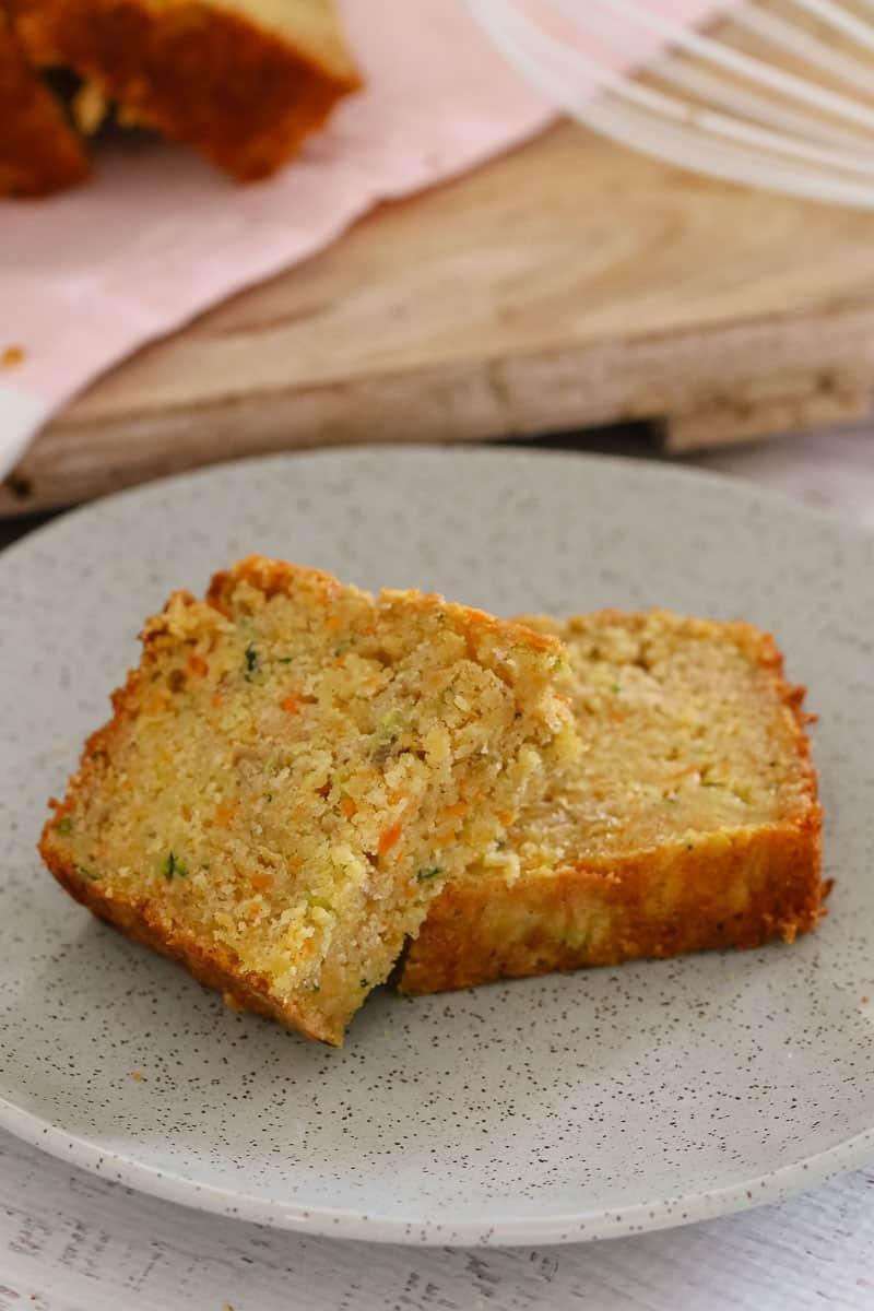 Carrot Apple Zucchini Bread  Apple Zucchini & Carrot Bread Bake Play Smile