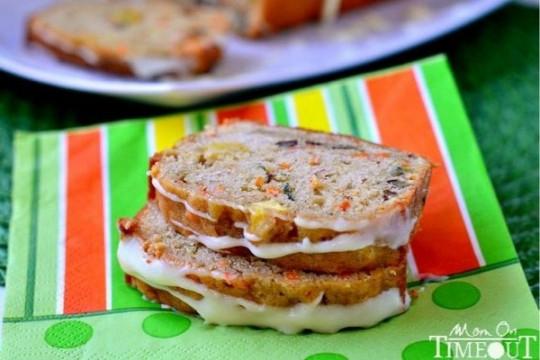 Carrot Apple Zucchini Bread  Carrot zucchini apple bread