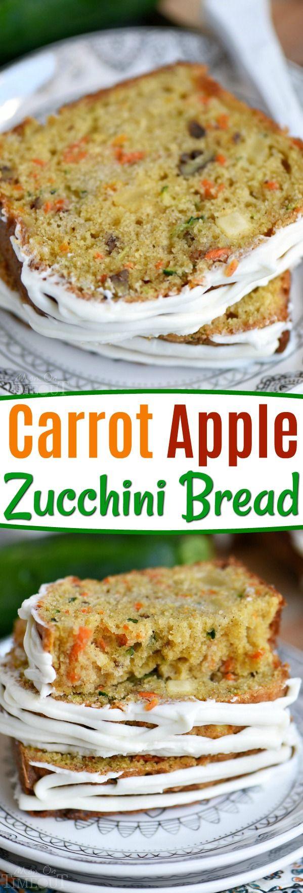 Carrot Apple Zucchini Bread  Carrot Apple Zucchini Bread – This Carrot Apple Zucchini