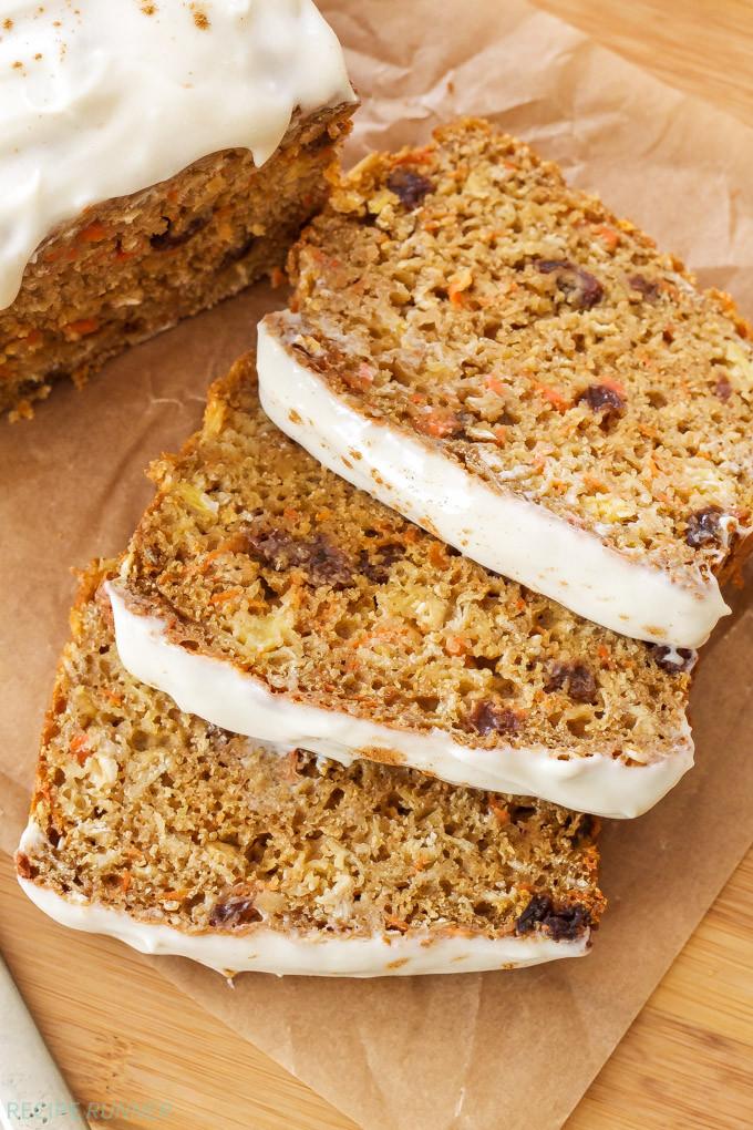 Carrot Cake Bread  Oatmeal Carrot Cake Bread Recipe Runner