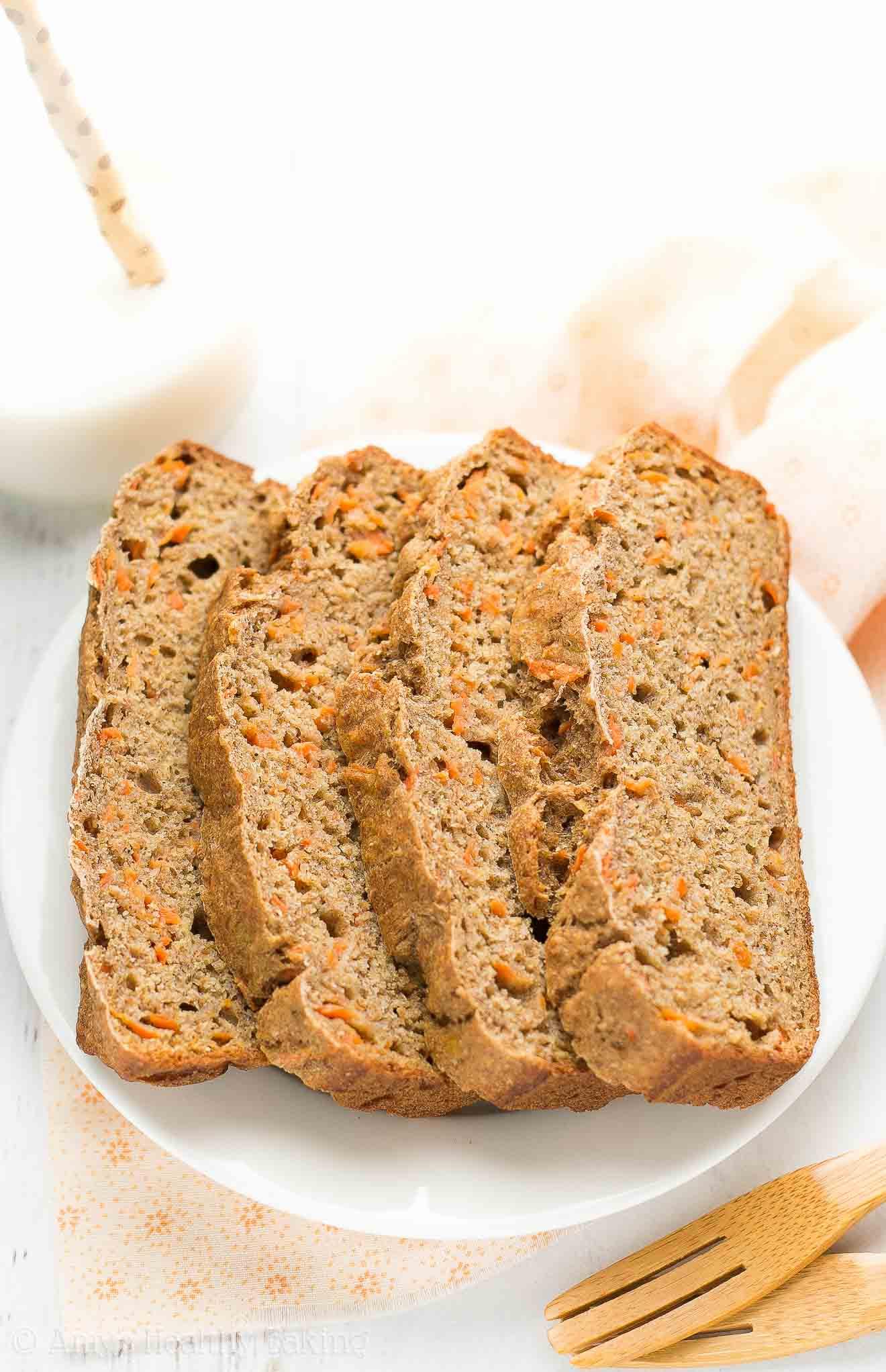 Carrot Cake Bread  Healthy Carrot Cake Banana Bread