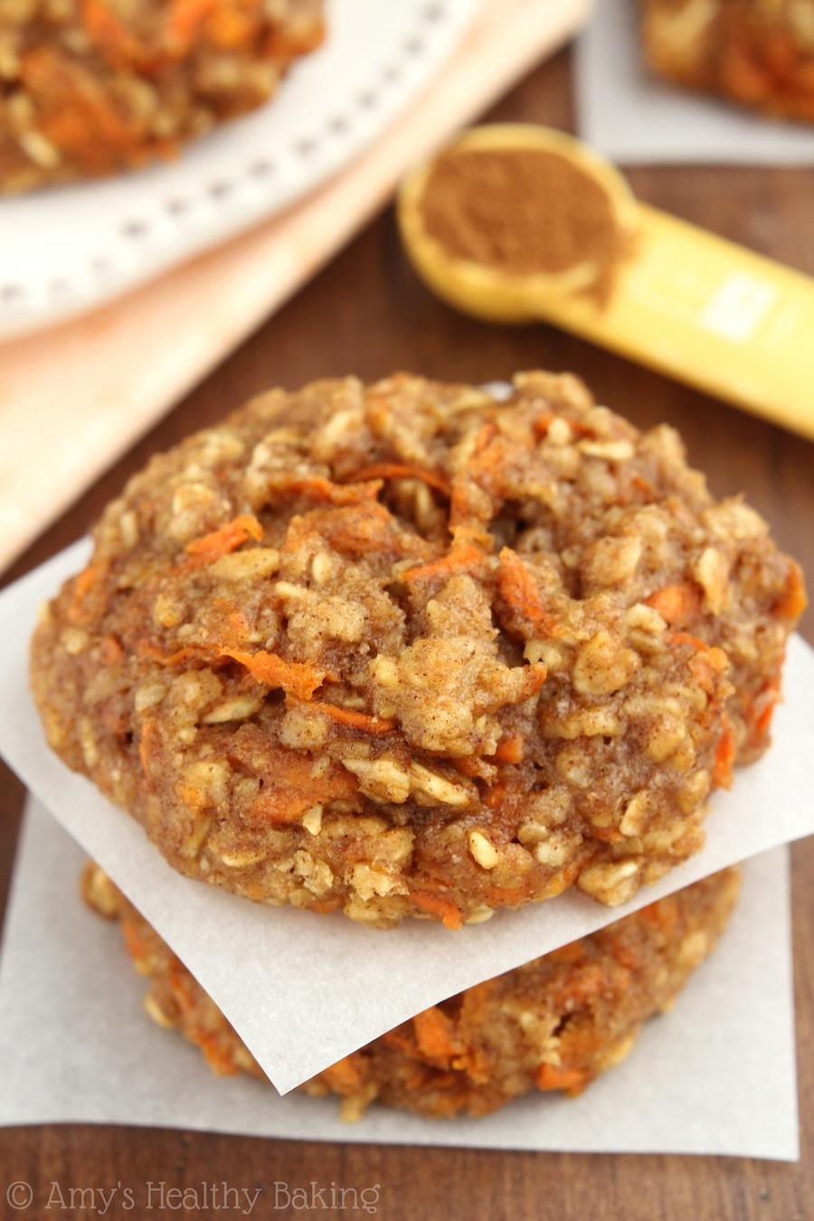 Carrot Cake Cookies  Carrot Cake Oatmeal Cookies