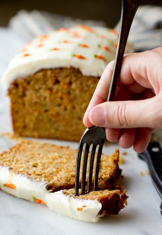 Carrot Cake Loaf  Carrot Cake Loaf The Gourmet Gourmand
