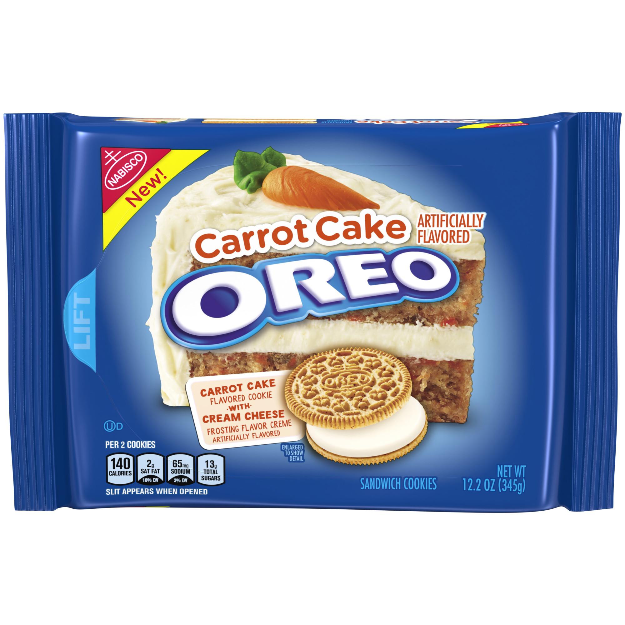 Carrot Cake Oreos  Carrot Cake Oreos are New Permanent Flavor