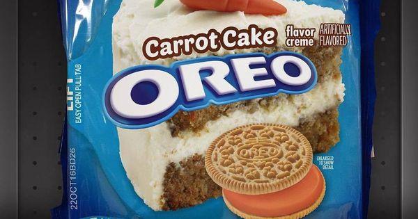Carrot Cake Oreos  Carrot Cake Oreos OREO OMG Pinterest