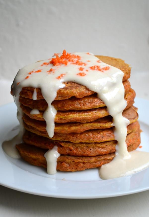 Carrot Cake Pancakes  25 Irresistible Pancake Recipes