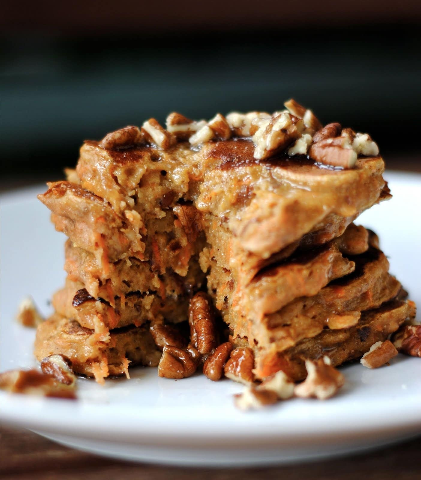 Carrot Cake Pancakes  Low Sugar Carrot Cake Pancakes