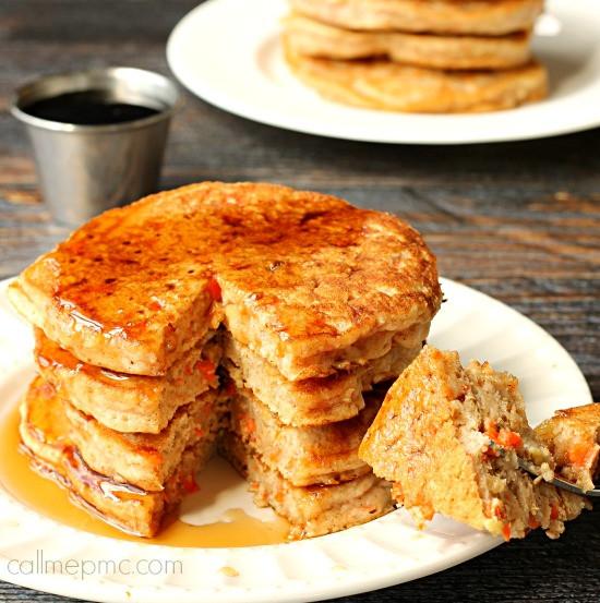 Carrot Cake Pancakes  Carrot Cake Pancakes Call Me PMc