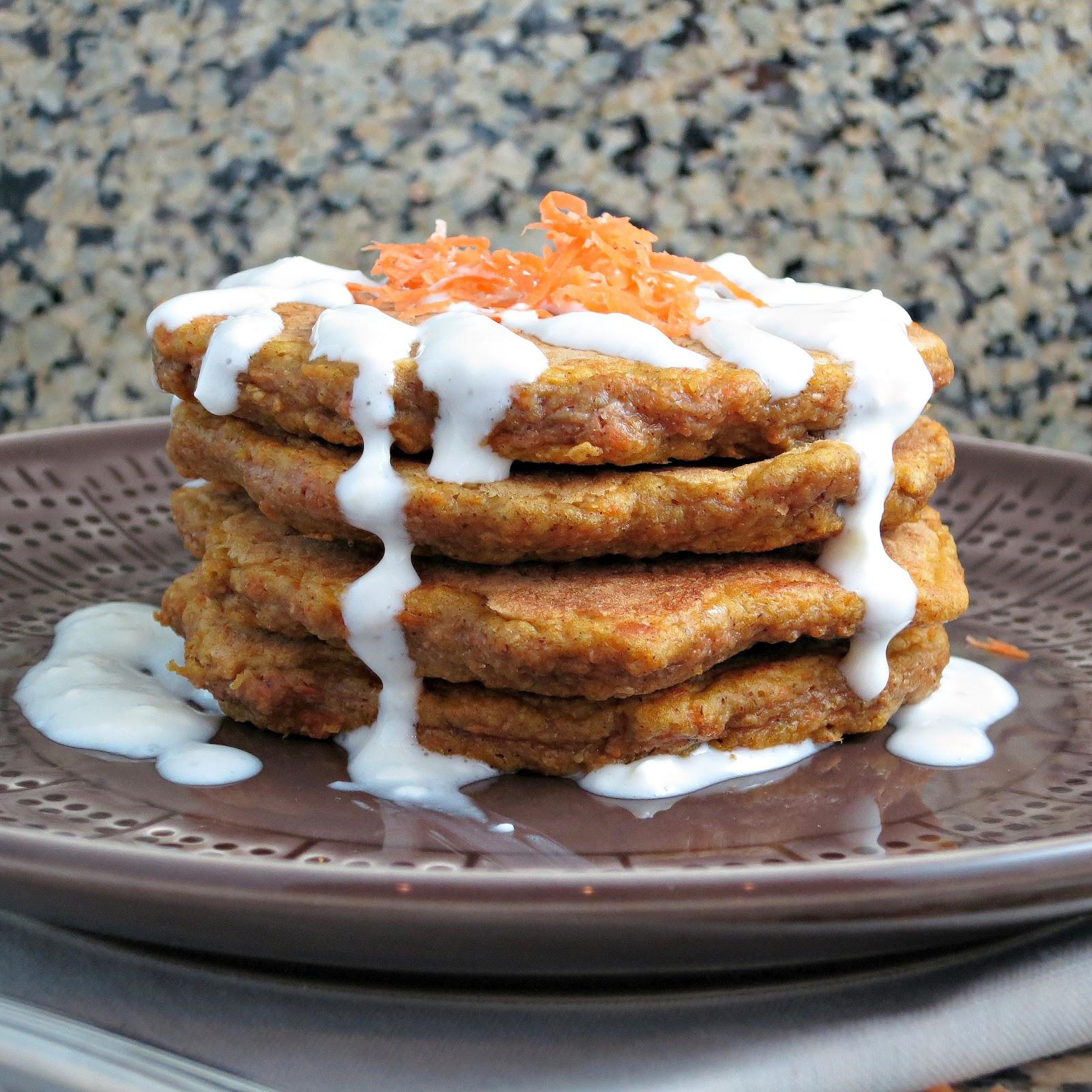 Carrot Cake Pancakes  Carrot Cake Pancakes Alida s Kitchen
