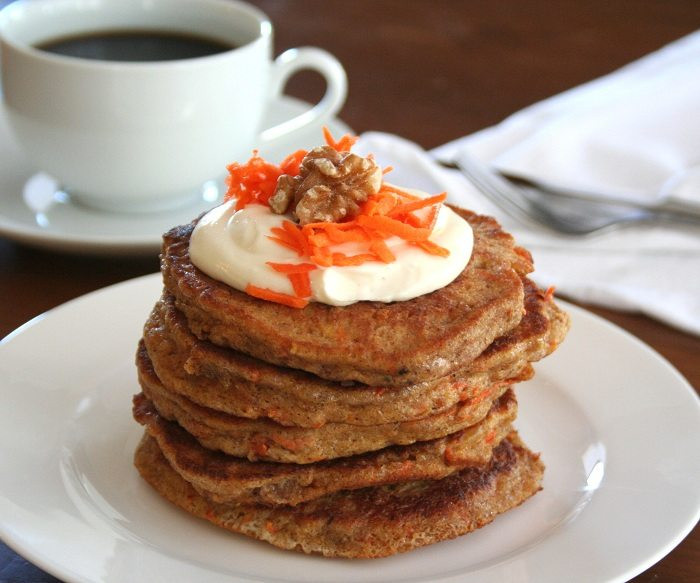 Carrot Cake Pancakes  Low Carb Slow Cooker Carrot Cake Recipe