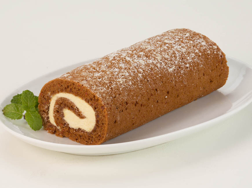Carrot Cake Roll  Mini Carrot Cake Roll The Father s Table