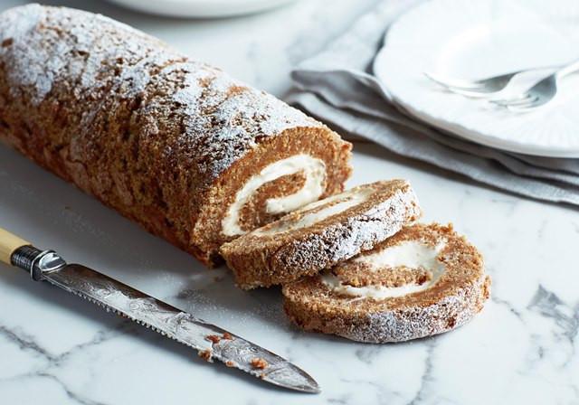 Carrot Cake Roll  Carrot Cake Recipes