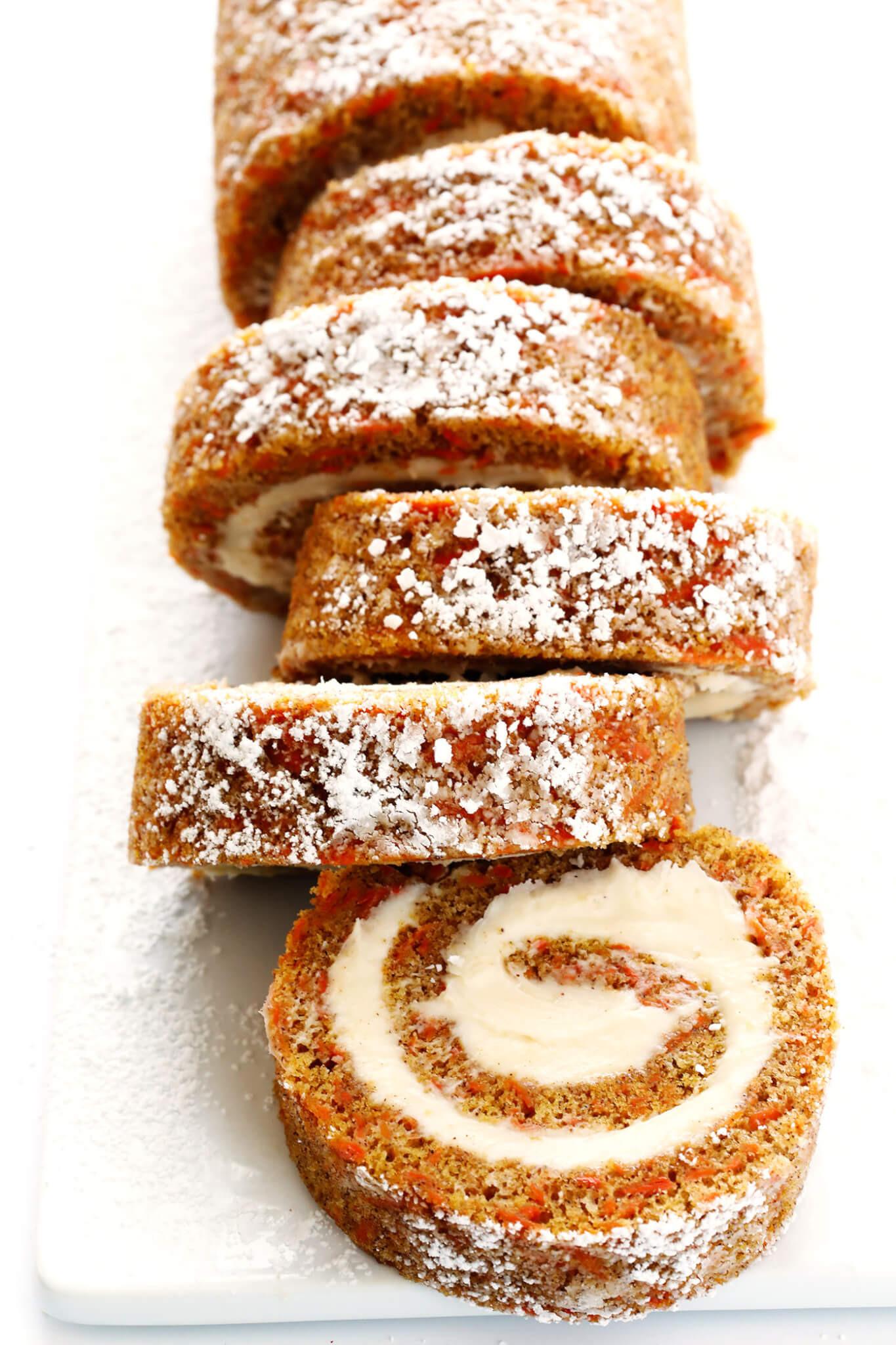 Carrot Cake Roll  Carrot Cake Roll