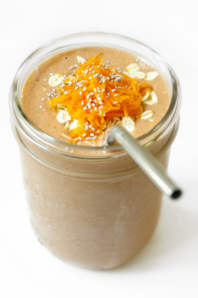 Carrot Cake Smoothie  What I love friday 17