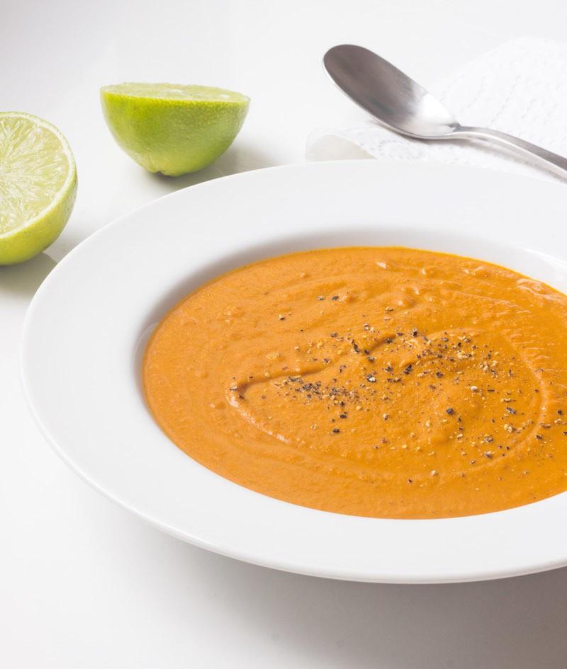 Carrot Coconut Soup  Carrot Coconut Soup Prepgreen