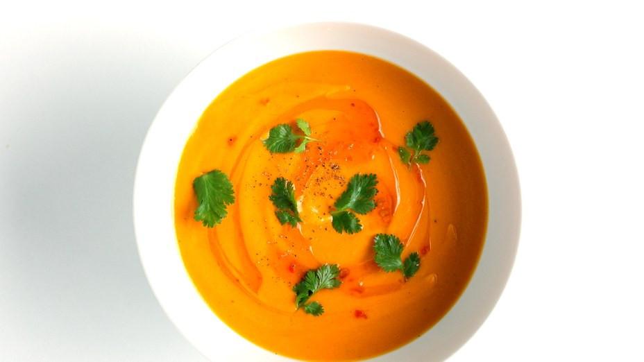 Carrot Coconut Soup  Carrot Coconut Soup Recipe
