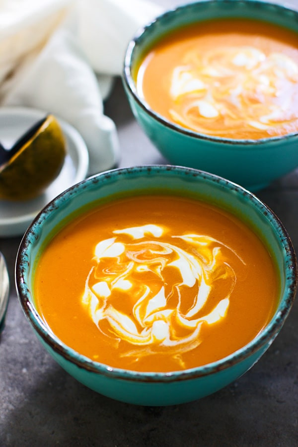 Carrot Coconut Soup  Curried Carrot and Coconut Soup Cooking for Keeps