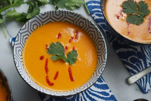 Carrot Coconut Soup  Carrot Coconut Soup Shutterbean