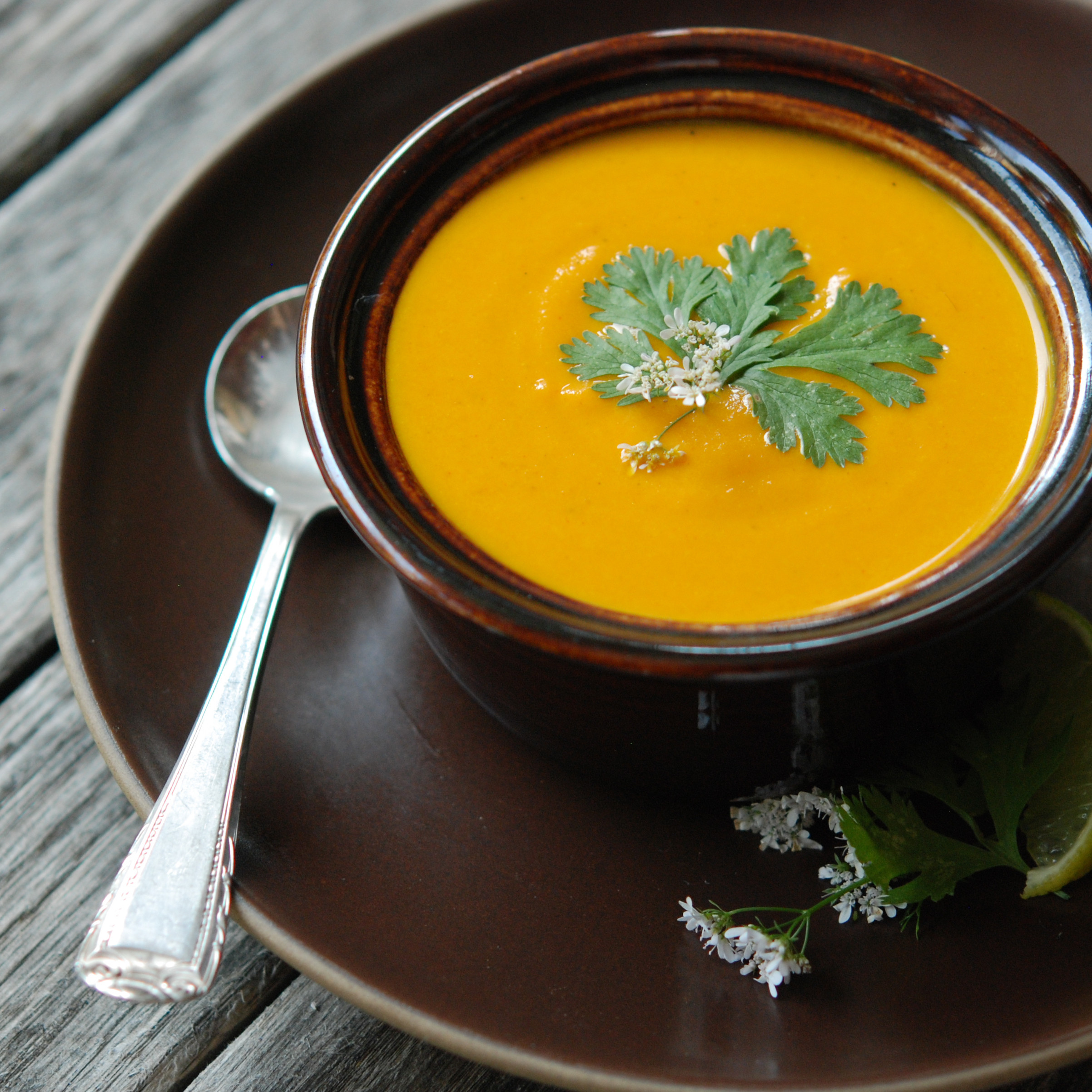 Carrot Ginger Soup Recipe  Cream of Carrot Soup with Ginger and Curry Recipe Andrew