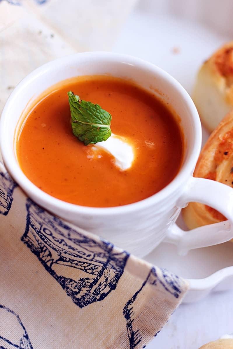 Carrot Ginger Soup Recipe  carrot ginger soup recipe low fat and vegan