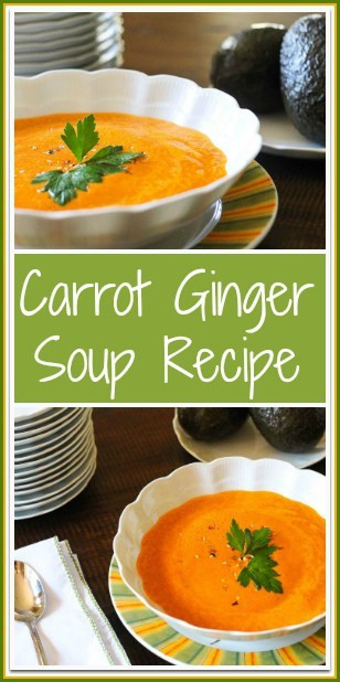 Carrot Ginger Soup Recipe  Carrot Ginger Soup Recipe