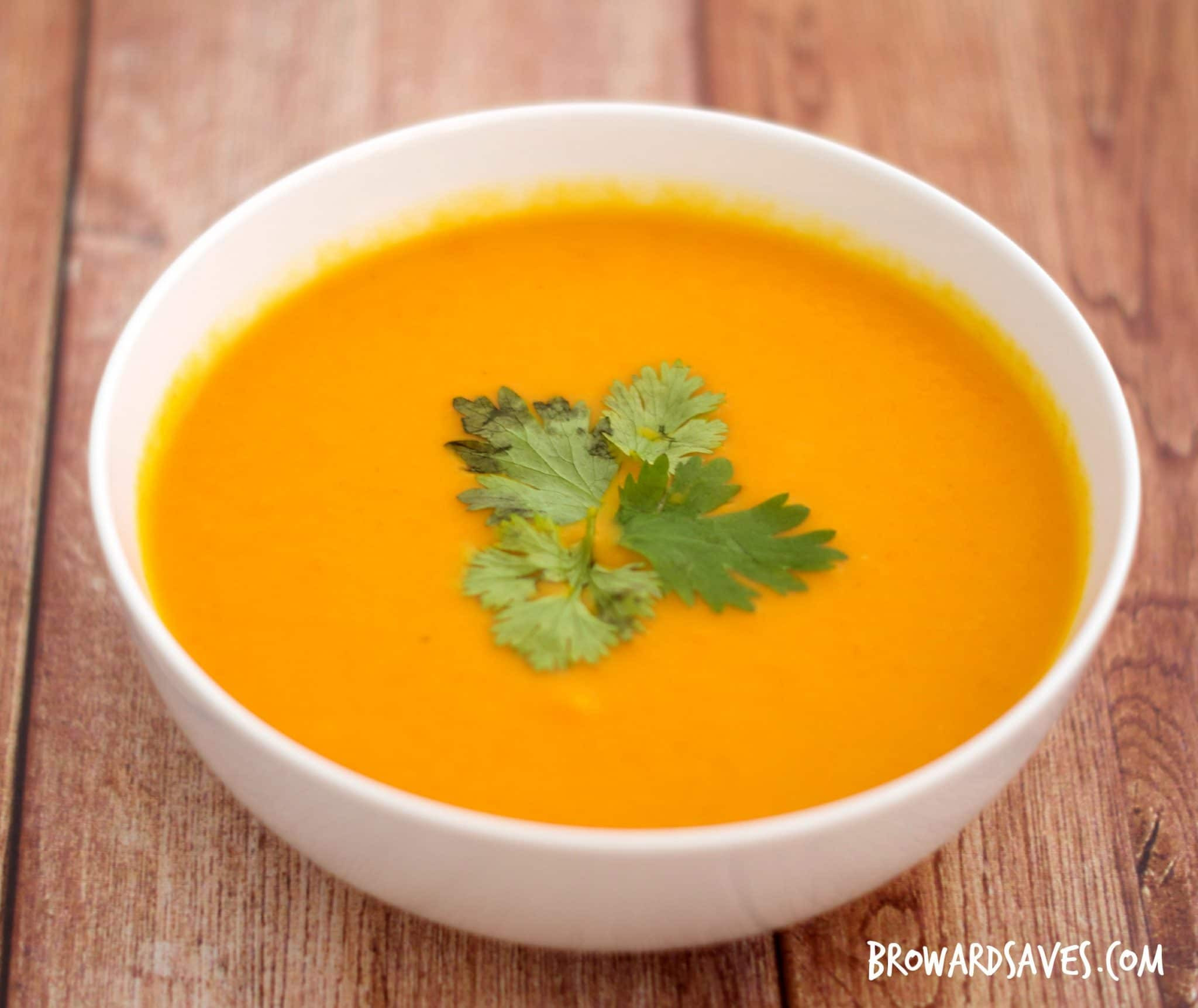 Carrot Ginger Soup Recipe  Creamy Carrot Ginger Soup Recipe