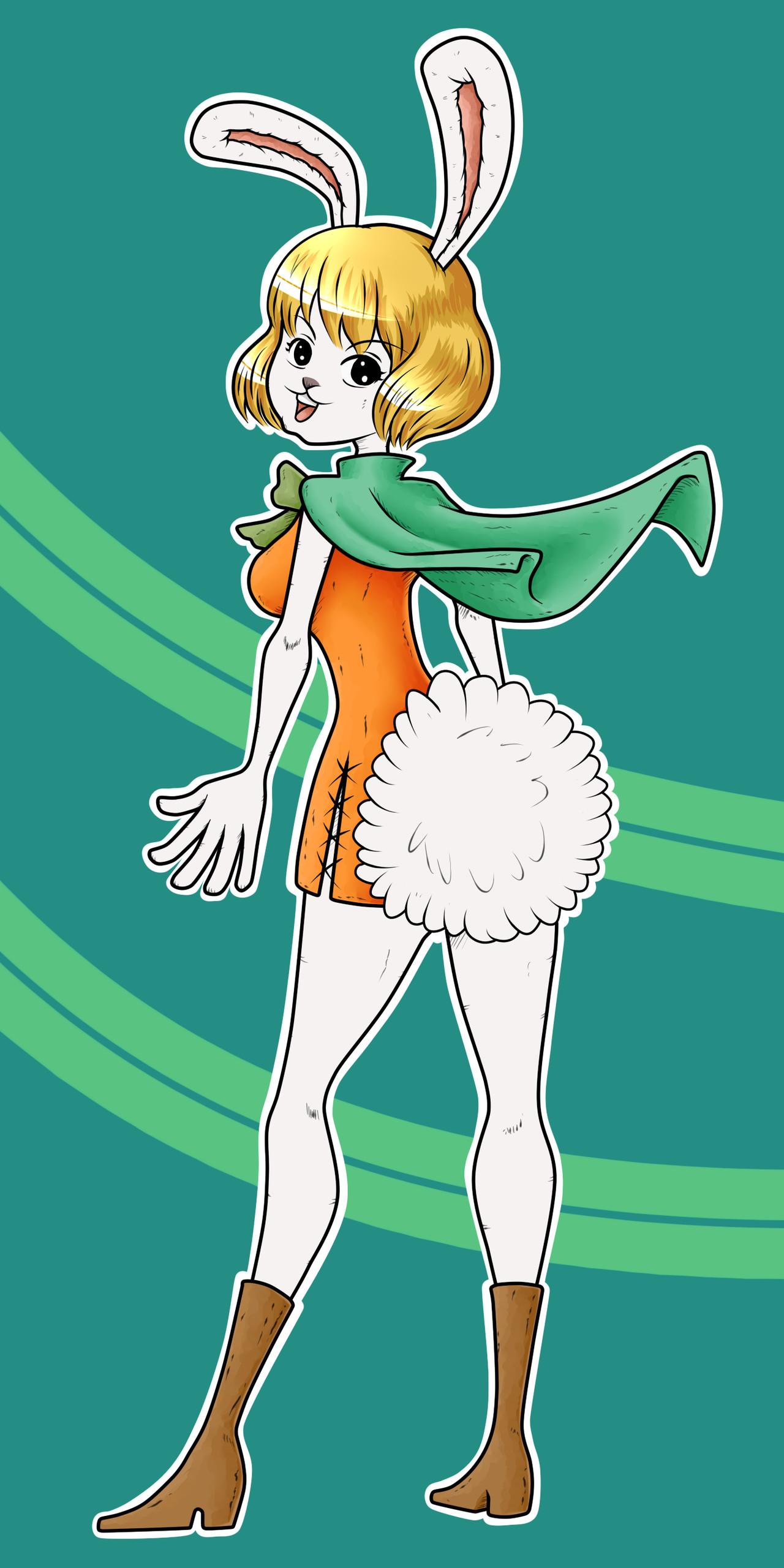 Carrot One Piece  e Piece Carrot by KarmaFez on DeviantArt