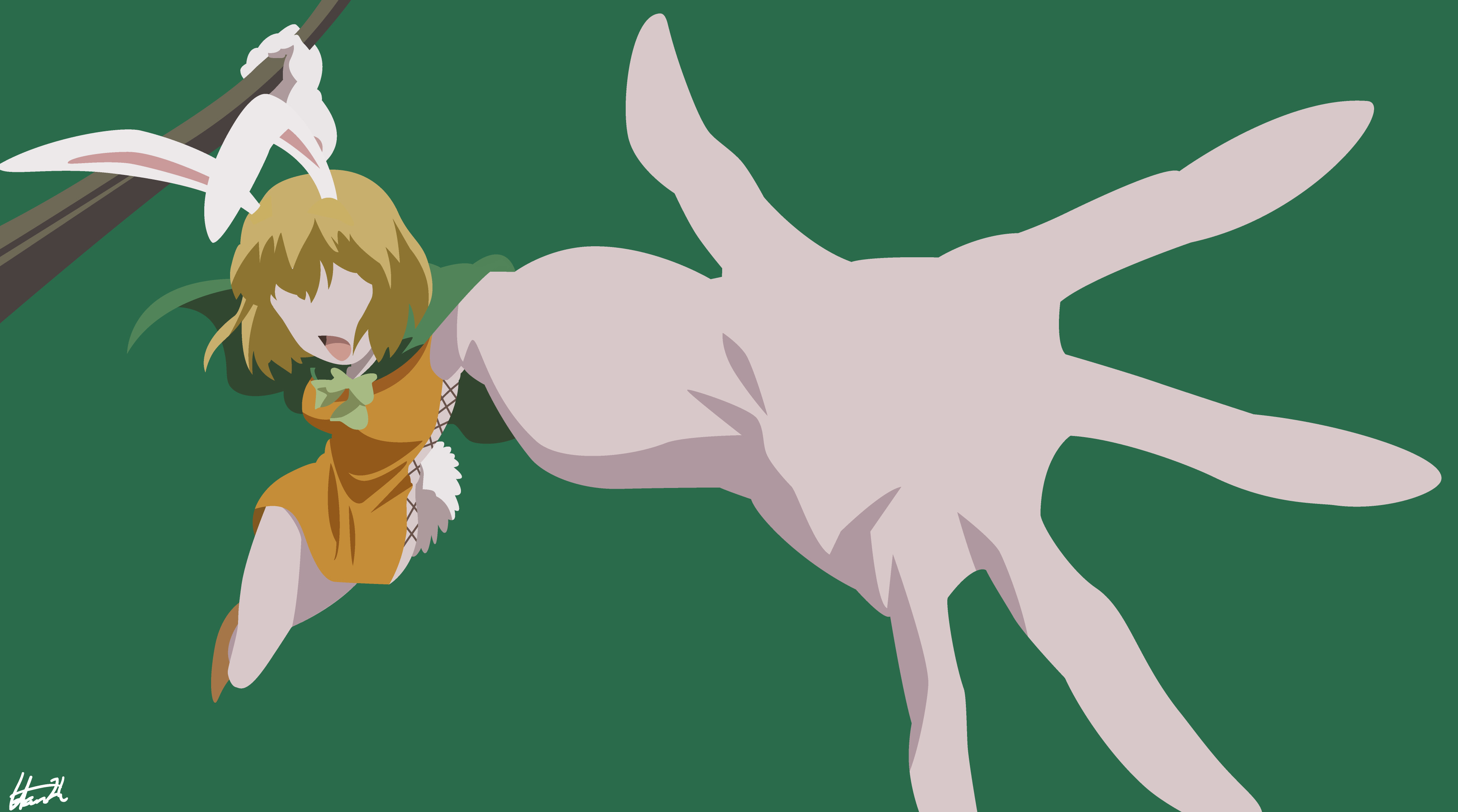 Carrot One Piece  Carrot e Piece Minimalist Wallpaper by HansZh on