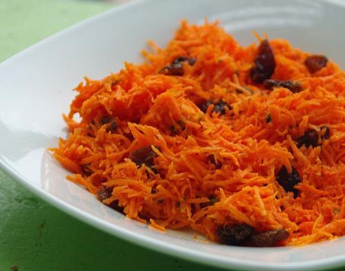 Carrot Raisin Salad  No Fat Carrot Raisin Salad Recipe Food
