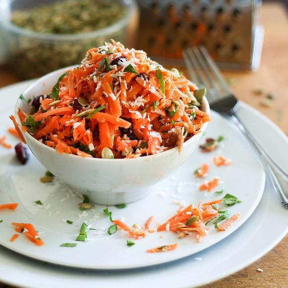 Carrot Raisin Salad  15 Delicious Raisin Recipes for National Raisin Day