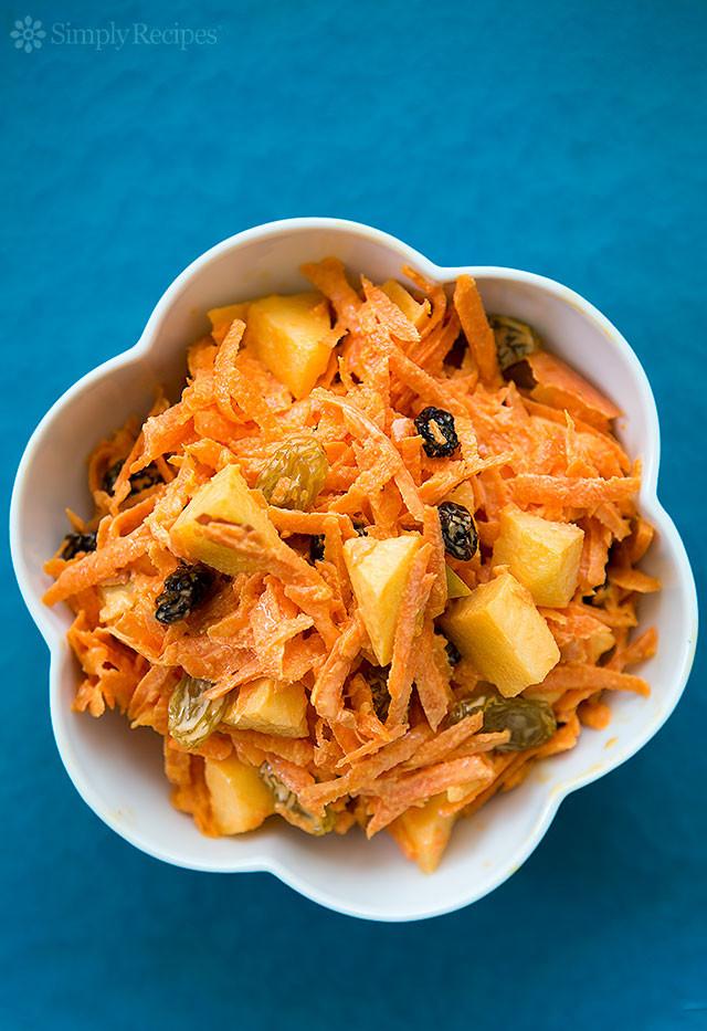 Carrot Salad Recipe  Classic Carrot Salad Recipe