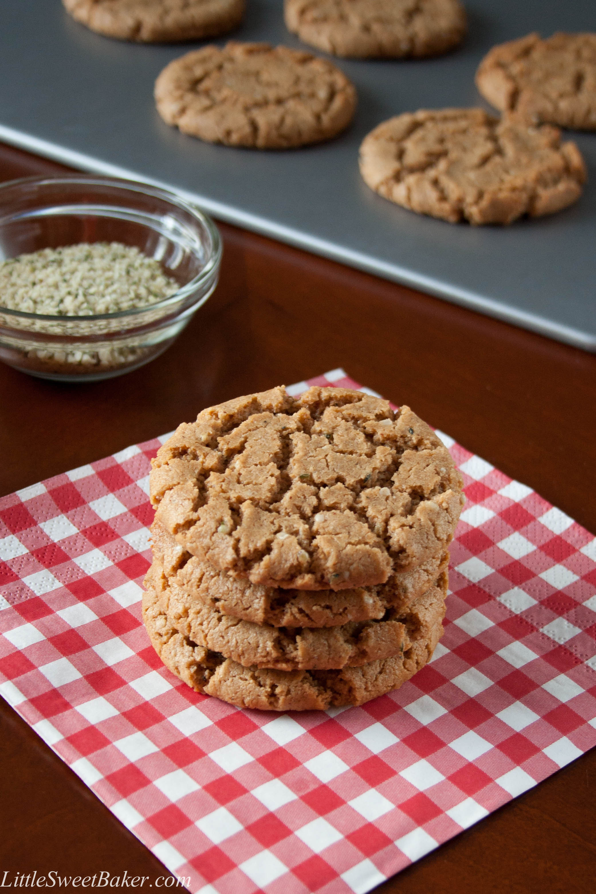 Cashew Butter Cookies  Gluten Free Spiced Cashew Butter Cookies – Little Sweet Baker
