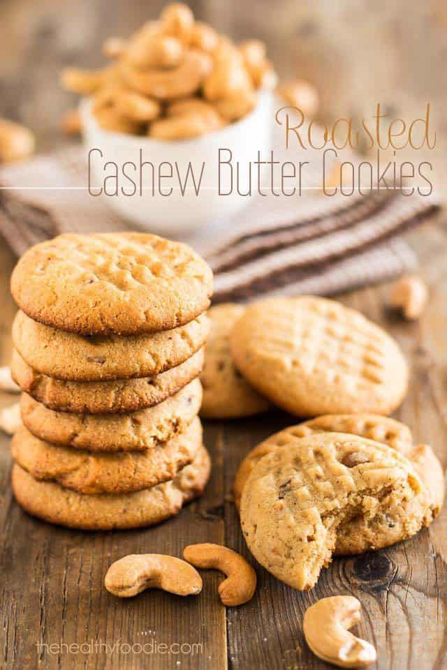 Cashew Butter Cookies  Roasted Cashew Butter Cookies