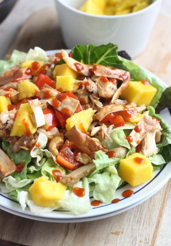 Cashew Chicken Salad  Mango Cashew Chicken Salad
