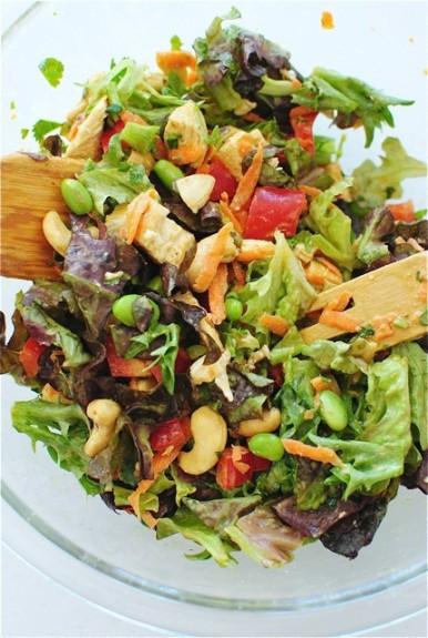 Cashew Chicken Salad  Thai Cashew Chicken Salad